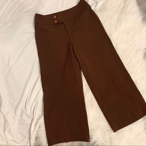 🛍3/30 Vintage Brown Culottes